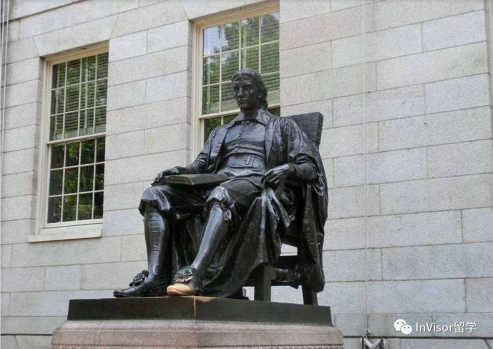 哈佛约翰·哈佛铜像