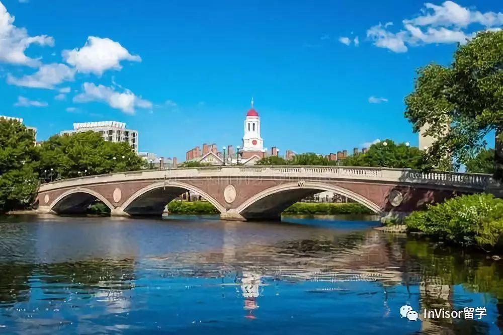 查尔斯河环绕的哈佛