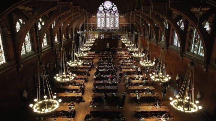哈佛大学的Annenberg食堂